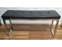 Harveys Black Dining Bench seat