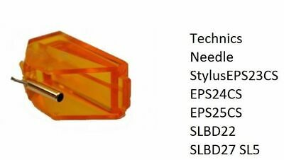 Stylus for JVC ALE500 DT62 W600CD Technics CDX10 CDX50 P23 P24 P25 P27 P28