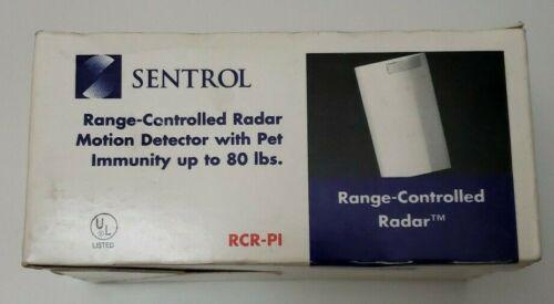 NEW Sentrol RCR-PL Radar Motion Sensor/Detector Industrial Pet Immunity