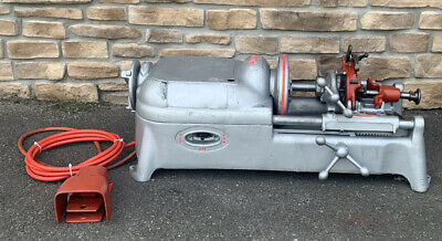 Ridgid 535 Pipe Threader Threading Machine Rigid 300 700 Fully Rebuilt 5