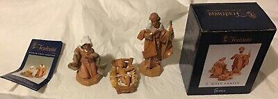 """1991 Fontani Holy Family Nativity Set In Box 5"""""""