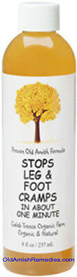 STOP RESTLESS LEG & AND FOOT CRAMP PAIN RELIEF CALEB TREEZE SEALED AMISH -