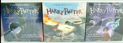 Harry Potter Books 1-3 (25CD), 4-5 (41CD), 6-7(37CD) Audio Collection BNAS (Harry Potter Audio Cd Collection 1 5)
