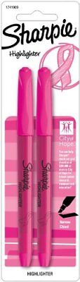 Sharpie Accent Highlighter - Pocket Pink Ribbon - Chisel Marker Point Style -