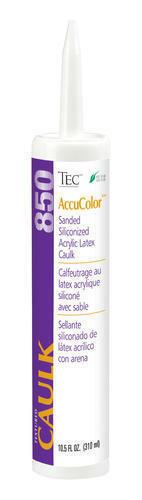 TEC AccuColor Sanded Caulk 850 - 10.5 oz (26 Colors)