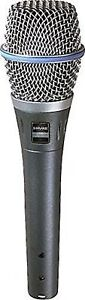 New Shure BETA 87A Supercardioid Condenser Microphone