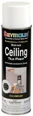 Seymour 20-051 Ceiling Tile Paint New White