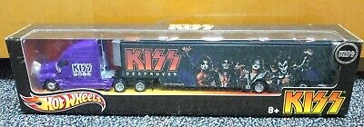 Hot Wheels Tour Haulers KISS Destroyer Truck & Trailer Vehicle Set ~ NEW IN BOX