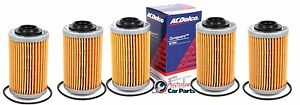 Oil Filter VZ VE VF V6 Holden Commodore 2004-2016 ACDelco 5 Pack genuine AC088