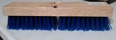 Wood Block Deck Scrub brush 12