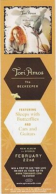 Tori Amos The Beekeeper RARE promo bookmark '05