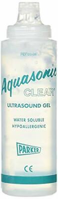 5 Pack - Parker Labs Aquasonic Clear Ultrasound Transmission Gel 8.5oz Bottle