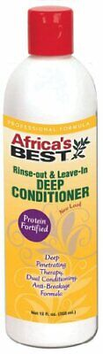 Africa's Best Rinse Out and Leave in Deep Conditioner, 12
