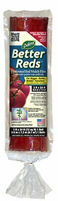 - Red Tomato Mulch Film for Better Growth & Increased Plant Yield (3 x 24')
