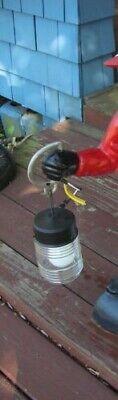 Black Lawn Jockey Electric Lantern...Lantern only... Not the jockey