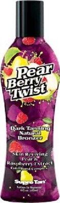 Berry Twist (Supre Pear Berry Twist Dark Natural Bronzer Indoor Tanning Lotion 8)