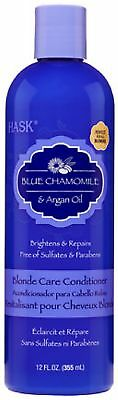 Hask Blue Chamomile and Argan Oil Blonde Care Conditioner, 1