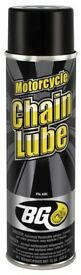 BG Motorcycle Chain Lube - £12