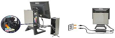 Dell Optiplex Usff USB Strom TFT Kabel Abdeckung Gehäuse Tower Computer ()