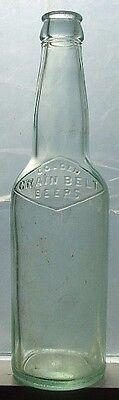 Antique aqua GOLDEN GRAIN BELT beer bottle MONTANA Cowboy's Choice