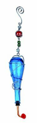 New Sunset Vista Blue Bottle Hummingbird Feeder 24 Inch Free Shipping