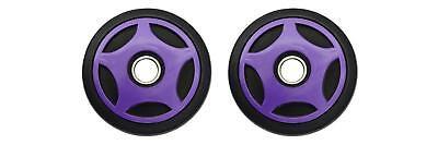 Mid Rail Purple Idler Wheels Kit for Snowmobile ARCTIC CAT ZL 700 Carb. 2000