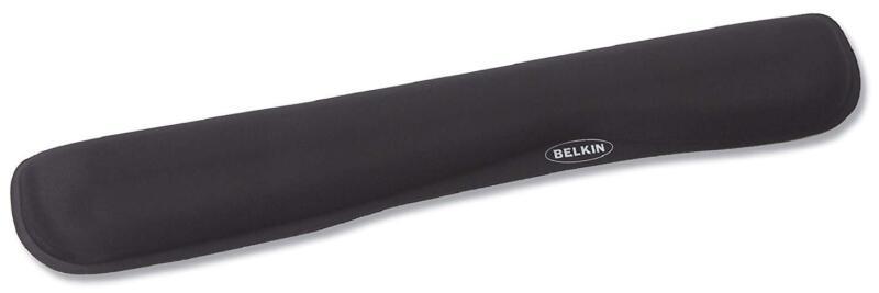 waverest gel wrist pad for keyboards black