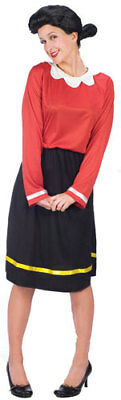 Olive Oyl Popeye Adult Womens Halloween Costume