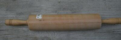AMERICAN METAL-CRAFT WOODEN ROLLING PIN WRPC-5713 BAKING UTENSILS