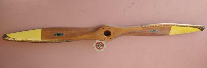 WW 2 Era Sensenich Wooden Airplane Propeller