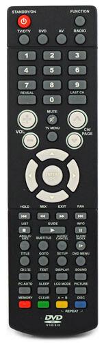 Logik TV Remote Control L22LID648 L22LID648A L22L1D648 22LID648