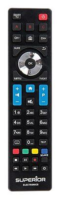 Superior Replacement Remote Control for Philips Televisions & Smart Televisions