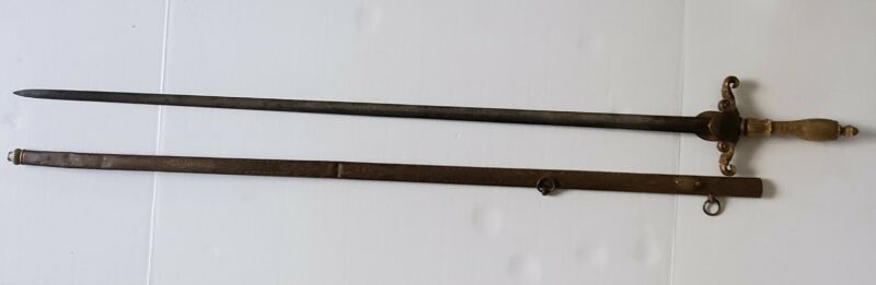 Model 1840 Ames Mfg US Medical Staff Civil War Presentation Sword