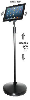 Kantek Tablet Pc Stand - Floor Stand - Black (ts890)