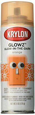 Glow Spray Paint (Krylon K03154007 Glowz Spray Paint, Glow-In-The-Dark Orange, 6)