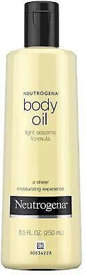 Neutrogena Body Oil Light Sesame Formula, Original 8.5 Oz...