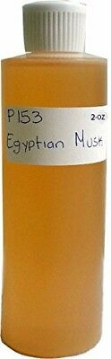1 oz, Light Brown - Perfume - Egyptian Musk Body Oil Scented Fragrance ()