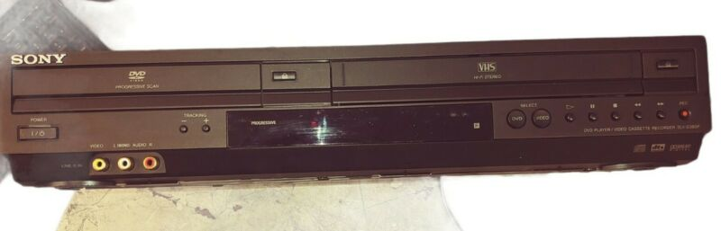 Sony SLV-D380P VHS/DVD Player/VCR Video Cassette Recorder Combo