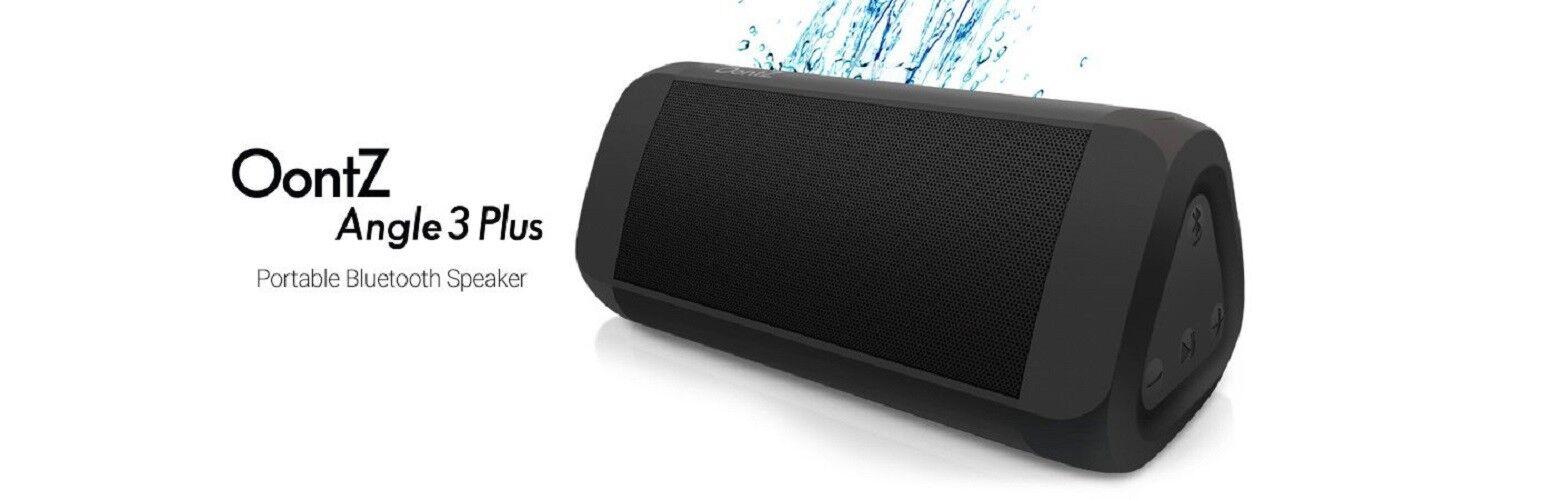 OontZ Angle 3 Enhanced Stereo Edition IPX5 Splashproof Porta
