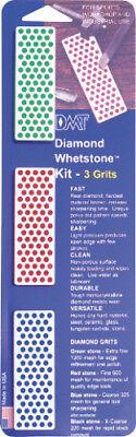 DMT Sharpening Set New Diamond Whetstone Kit W7EFC ()
