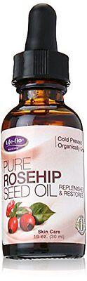 ซื้อ life flo organic pure rosehip seed oil ounce ราคาถูก