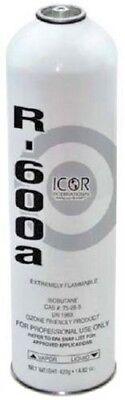 R600A, ICOR International Inc., Refrigerant, 14.82 oz. Can, Isobutane, R-600 Gas