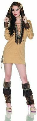 Delicious Adult Eskimo Kisses Halloween Costume, Brown, Extra Small Theater - Kiss Halloween Special