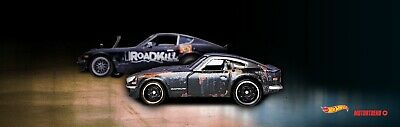 Hot Wheels RLC MotorTrend Roadkill Rotsun 2-Car Set~1971 Datsun 240Z~ Pre-Order