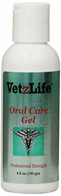 VetzLife Natural Oral Care Gel Dental Hygine Peppermint Flavor Dog & Cats 4.5oz ()