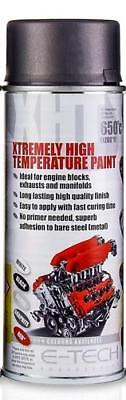 SATIN GREY Extremely High Temperature Paint Engine 1200F 650C Motorbike (VHT/G)