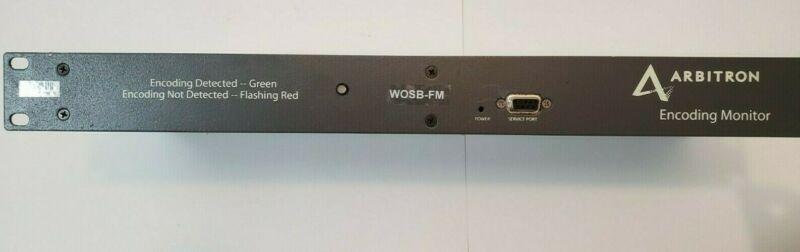 Arbitron Encoding Monitor Serial# 602490