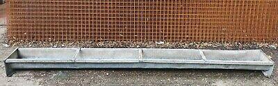 Vintage Galvanised Trough / Garden Planter  275 cm / 9 feet Long