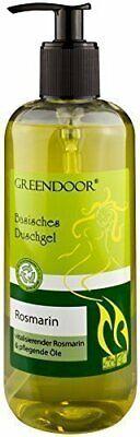 500ml Greendoor Basisches Duschgel Rosmarin, biologisch abbaubar, Natur für