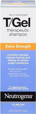 Neutrogena T-Gel Therapeutic Shampoo, Extra Strength 6 Fl Oz